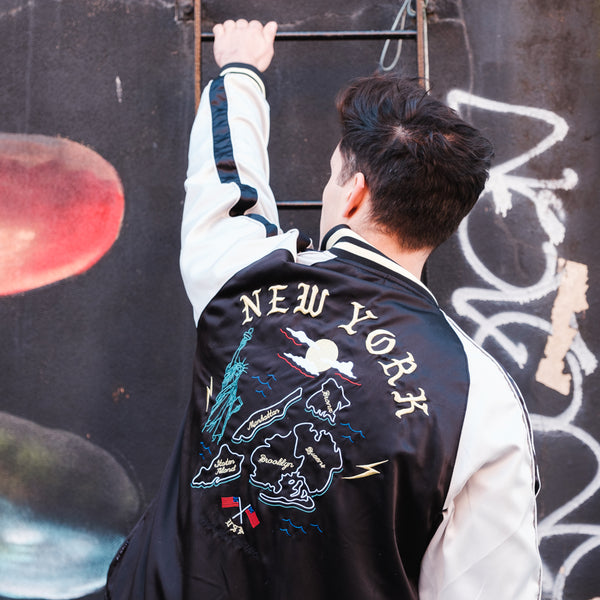 Reversible New York Souvenirs Jacket