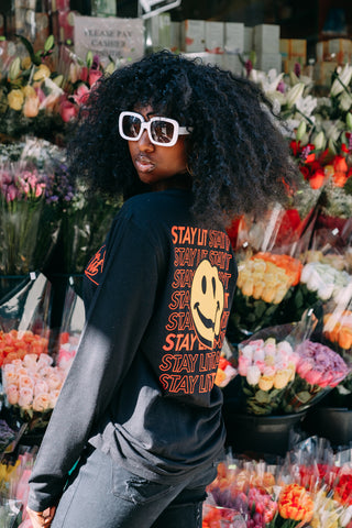Stay Lit Tee for Women