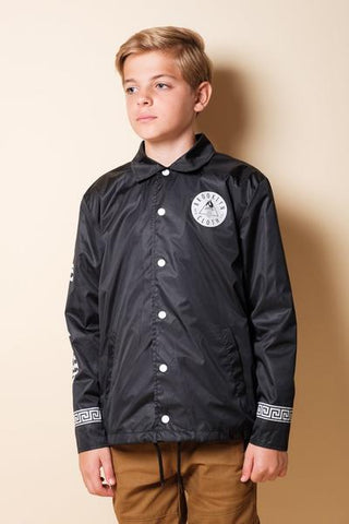 BOYS BLACK LIMITED EDITION COACHES JACKET