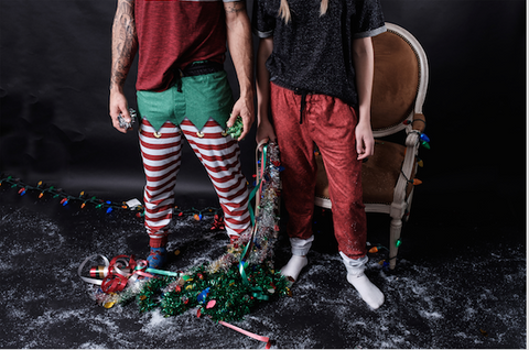 Elf and Santa Jammy Joggers