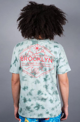 brooklyn coast tie-dye mens t-shirt