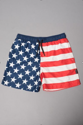 Split Swim Trunk