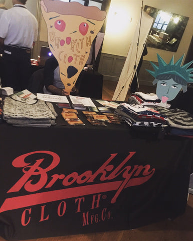 Brooklyn Cloth Taste Talks Table
