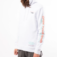 Men's Open Your Mind Hoodie by Brooklyn Cloth