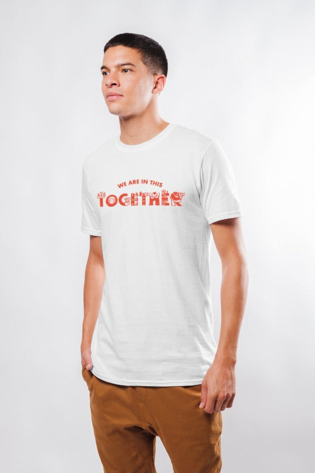 Original Garment White We are in this Together Tee