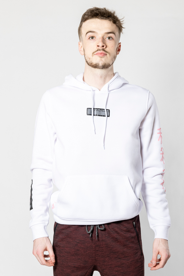 White Worldwide Icon Tiger Hoodie