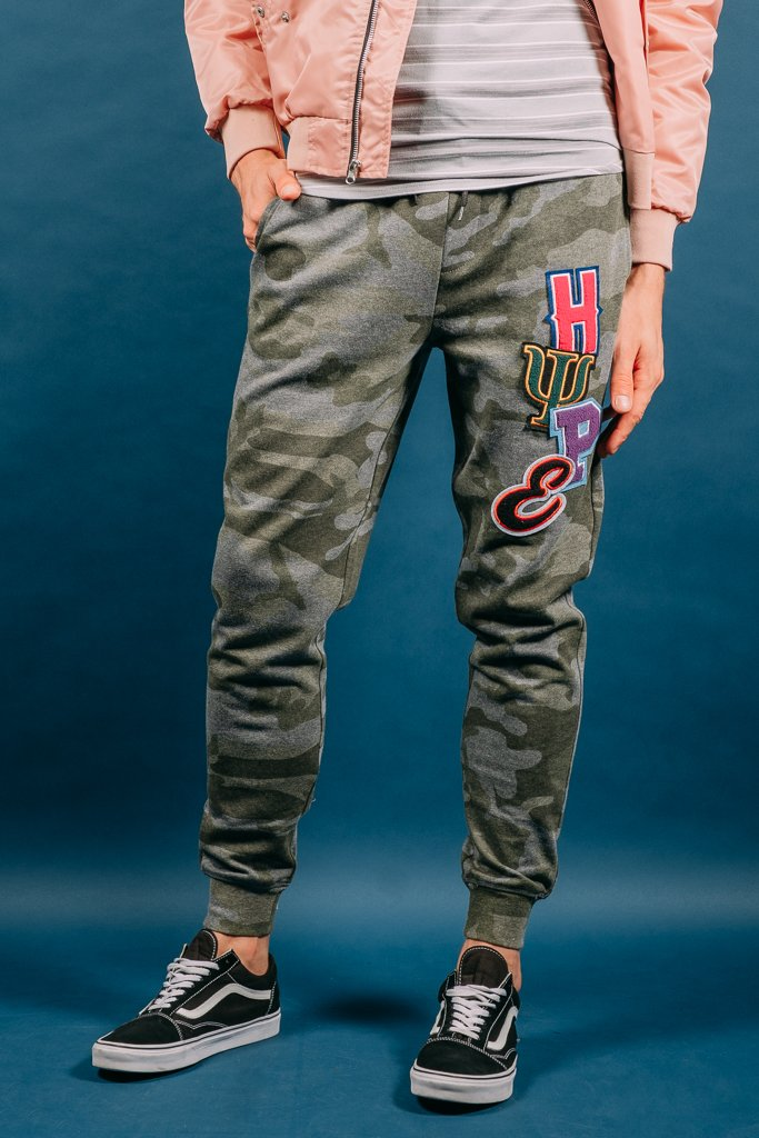 Hype Chenille Patch Jogger Pants
