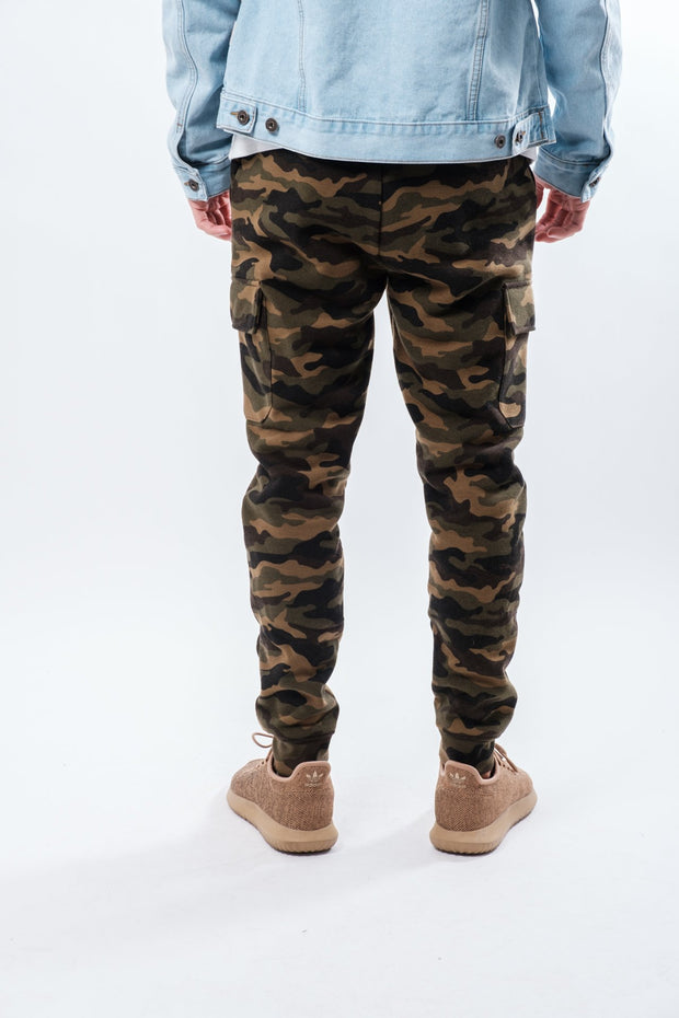 Camo Core Fleece Cargo Jogger