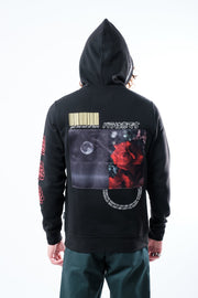 Black Smell the Rose Hoodie