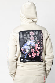 Sand Worldwide Icon Tiger Hoodie