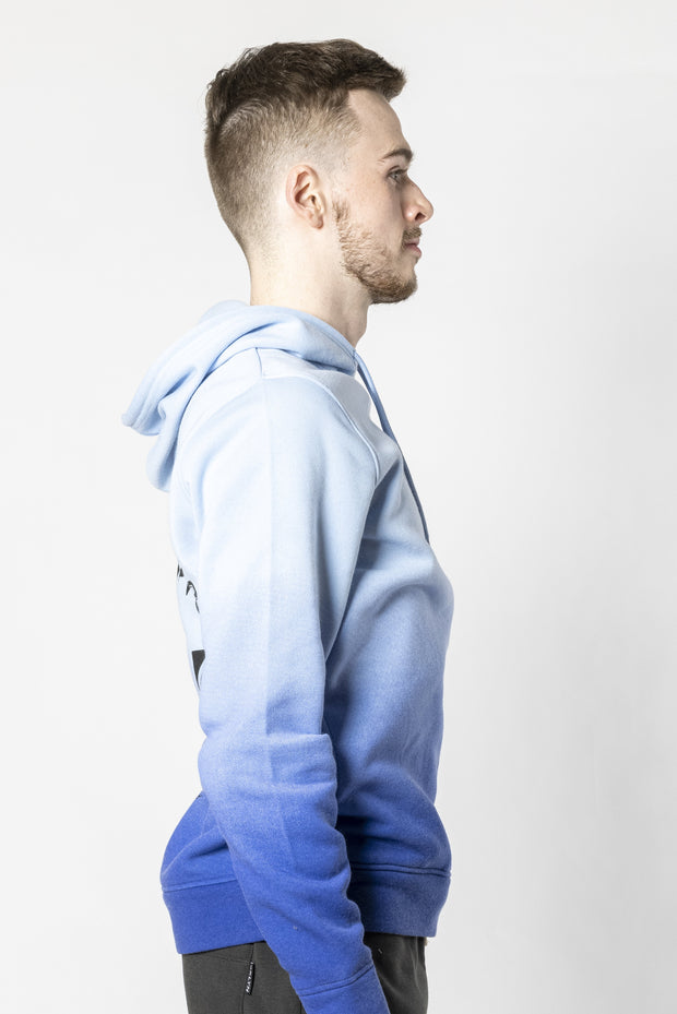 Dusty Blue Imagine Ombre Hoodie