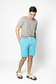 Scuba Blue Knit Shorts