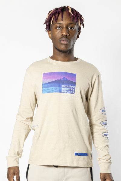 Sand Trip Worldwide Long Sleeve Tee