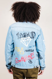 Graffiti Denim Jacket