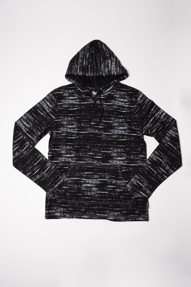 Black Lightweight Hoodie for Men