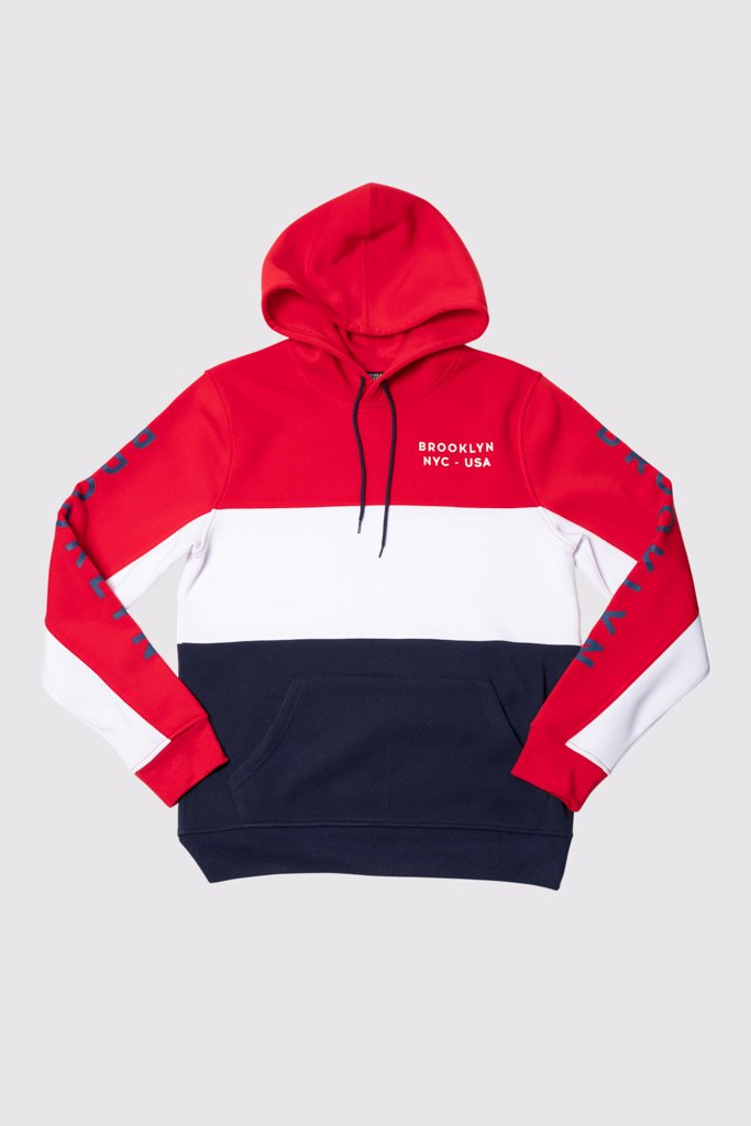 Brooklyn Color Block Hoodie