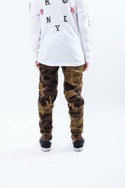 Boy's Camo Fleece Jogger