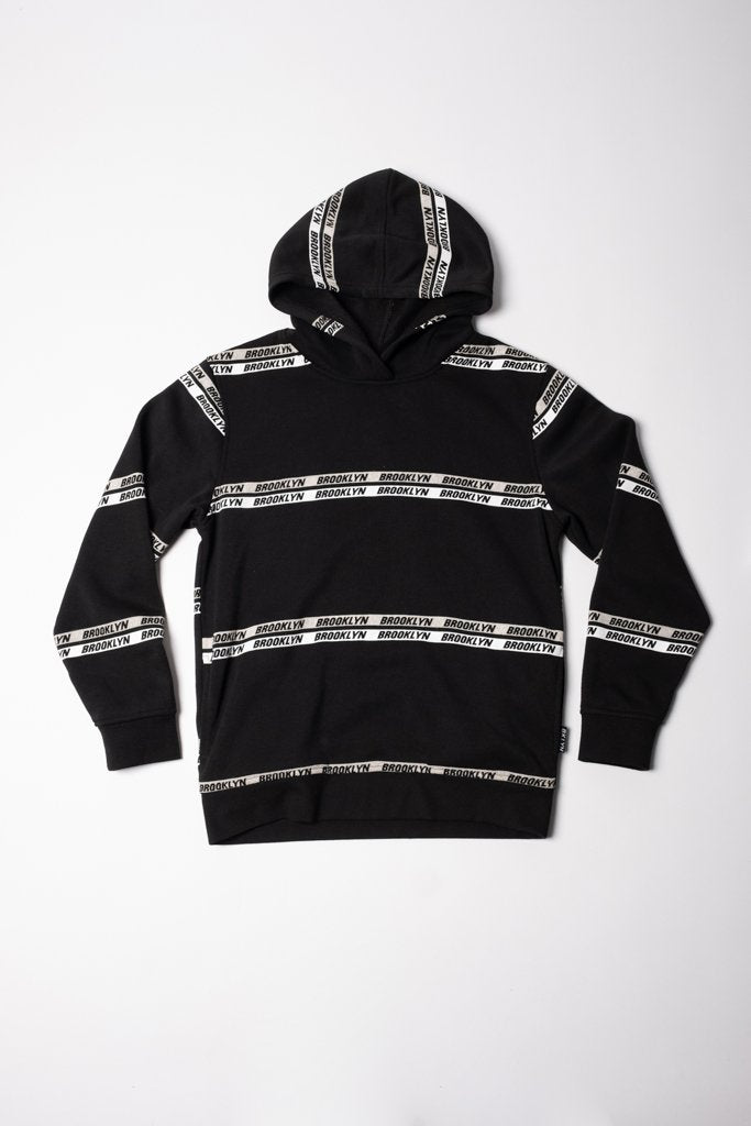 Boys Brooklyn Striped Hoodie