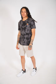 Black Luxury True Tie Dye Tee