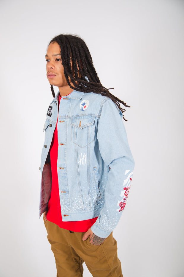 Light Wash Stay Wavy Denim Jacket
