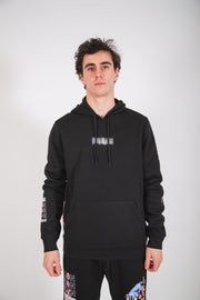 Black Worldwide Icon Tiger Hoodie