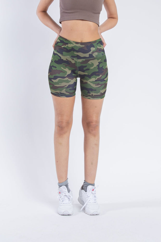 "Women's 5"" Inseam Camo Bike Shorts"