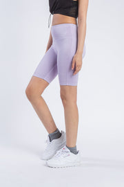 "Women's Lavender 7"" Inseam Biker Short"