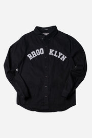 Brooklyn Long Sleeve Woven Shirt
