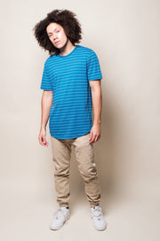 Brooklyn Cloth Blue Stripe T-shirt for Men