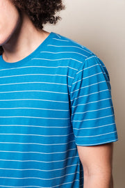 Blue Stripe T-shirt for Men