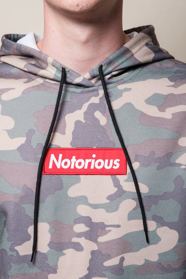 Notorious Camo Hoodie