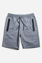 Black Marl Heat Seal Shorts