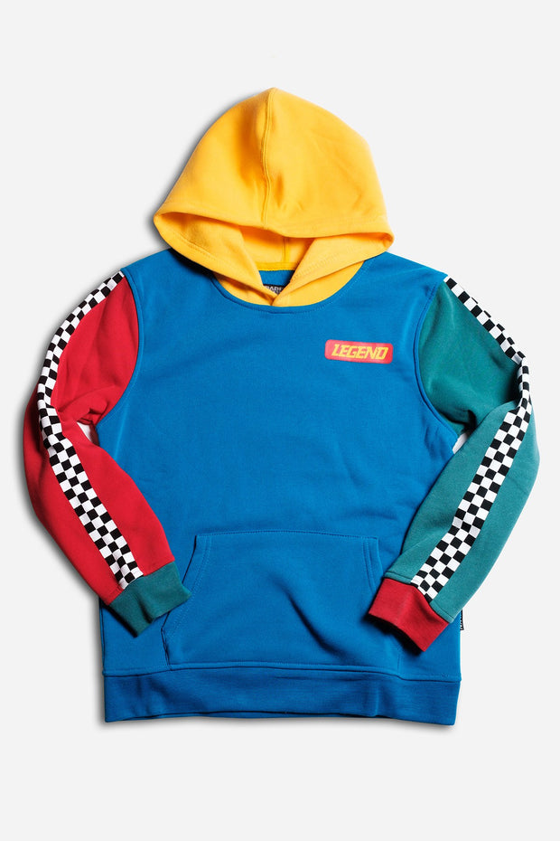 Boys Legend Color Blocked Hoodie