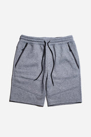 Cool Mens Loungewear shorts in Black Marl by Brooklyn Cloth