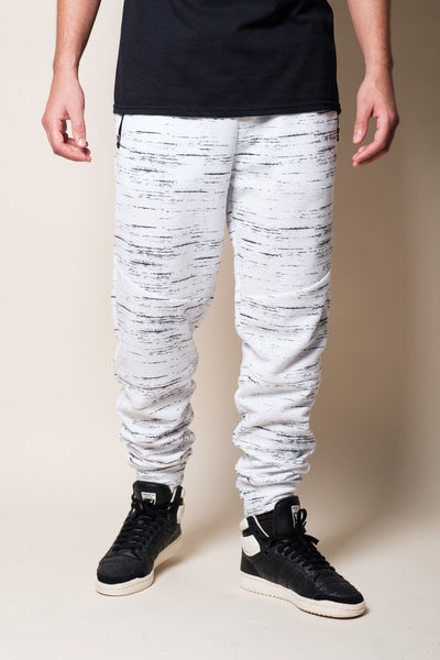 White Intertech Jogger Pants