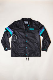 Boys Black Brooklyn Coaches Jacket