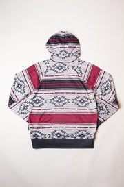 Boys Oatmeal Cozy Knit Desert Hoodie for Youth
