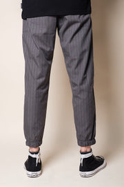 Brooklyn Cloth Grey Pinstripe Jogger Pants