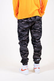 Brooklyn Cloth Grey Snow Jogger Pants for Men