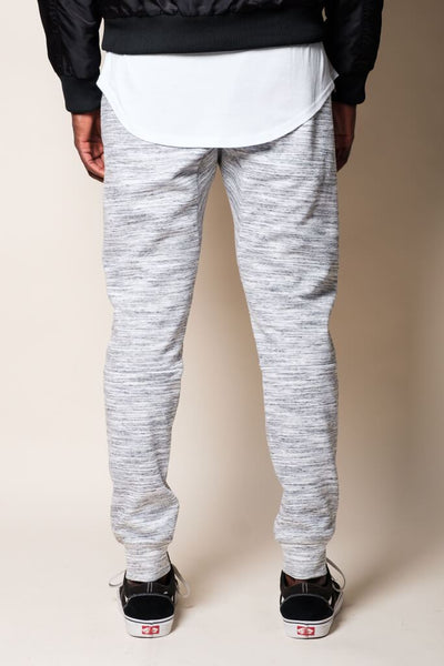Brooklyn Cloth Natural Knit Space Dye Jogger Pants
