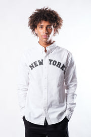 New York Long Sleeve Woven Shirt
