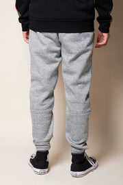 Brooklyn Cloth Men's Grey Polyester Jogger Pants
