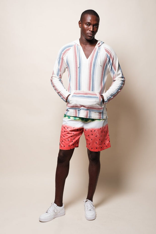 Brooklyn Cloth Watermelon Swim Trunks for Men