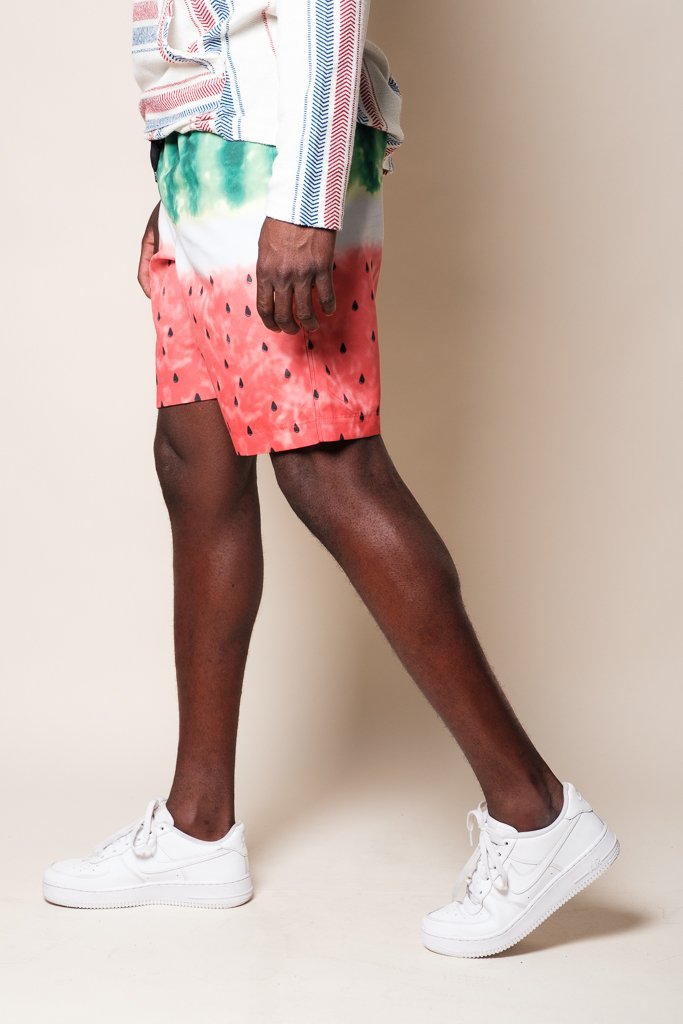 "Watermelon 8"" Swim Trunks"