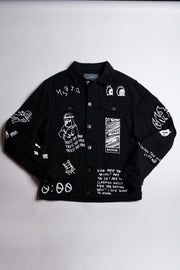 Creation Doodle Denim Jacket
