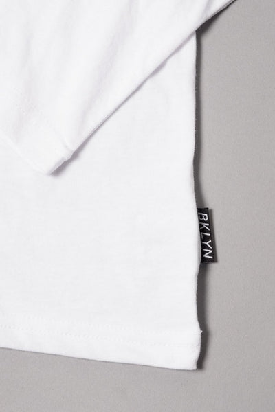 Boy's White NY State of Mind Long Sleeve Tee