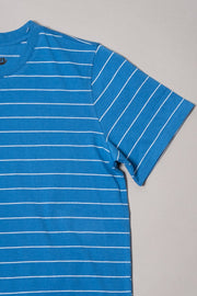 Boys Blue Striped Tee