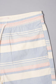 Boys Navy Striped Twill Shorts