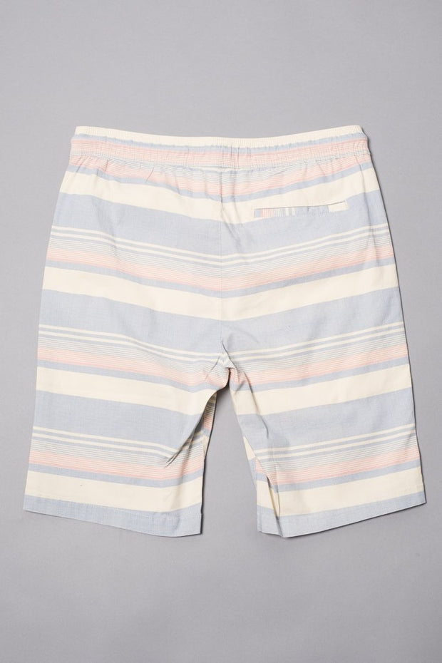 Brooklyn Cloth Boys Navy Striped Poplin Shorts