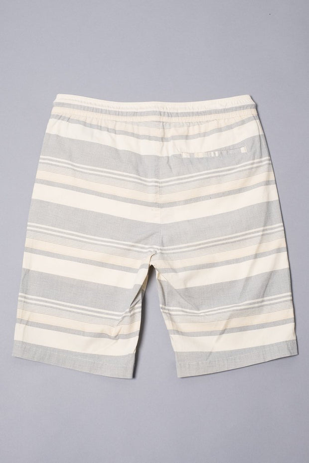 Brooklyn Cloth Boys Black Striped Poplin Shorts